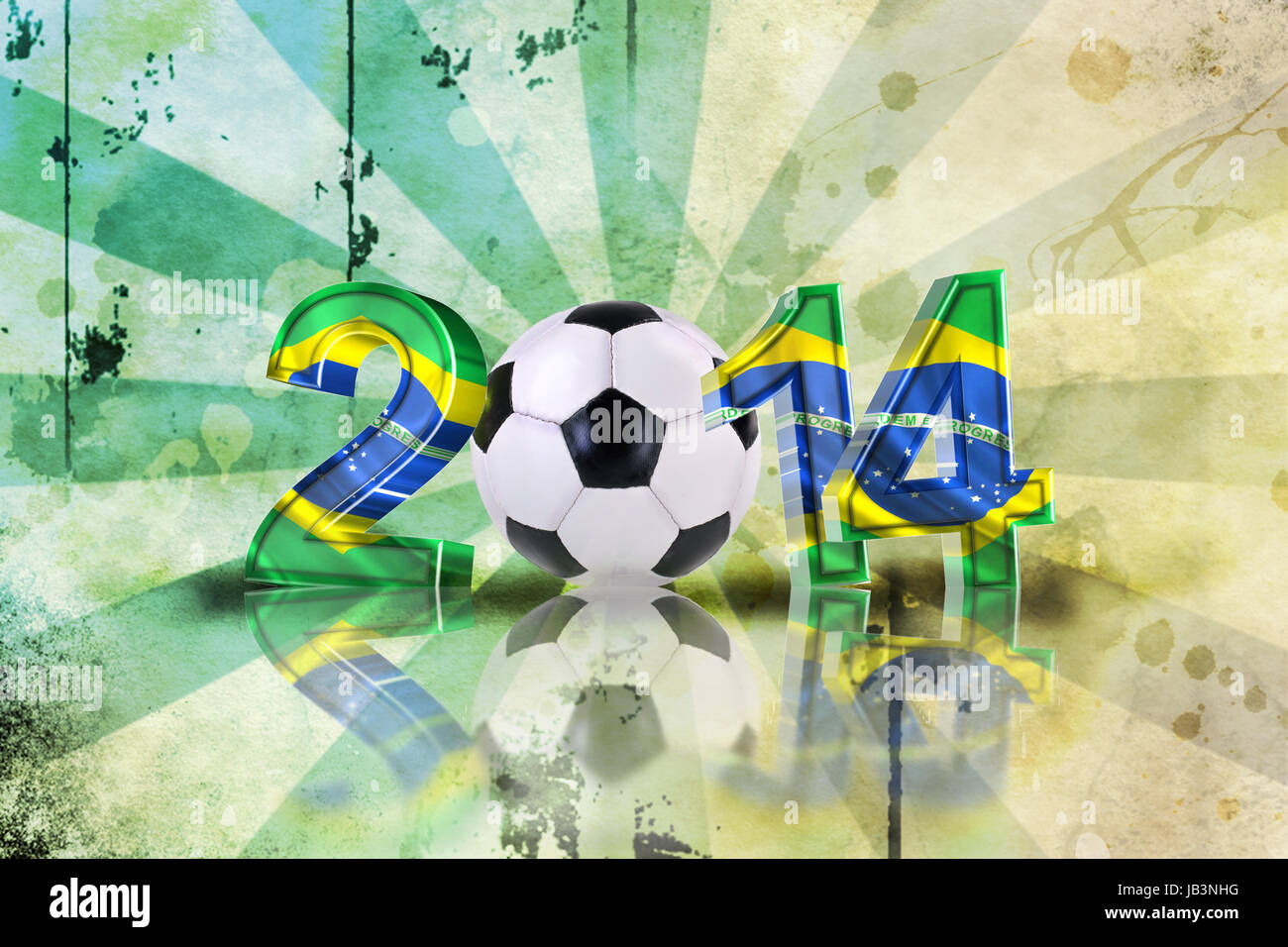 2014 soccer event - Stock Image