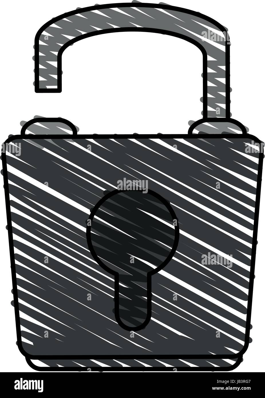 lock icon image  - Stock Vector
