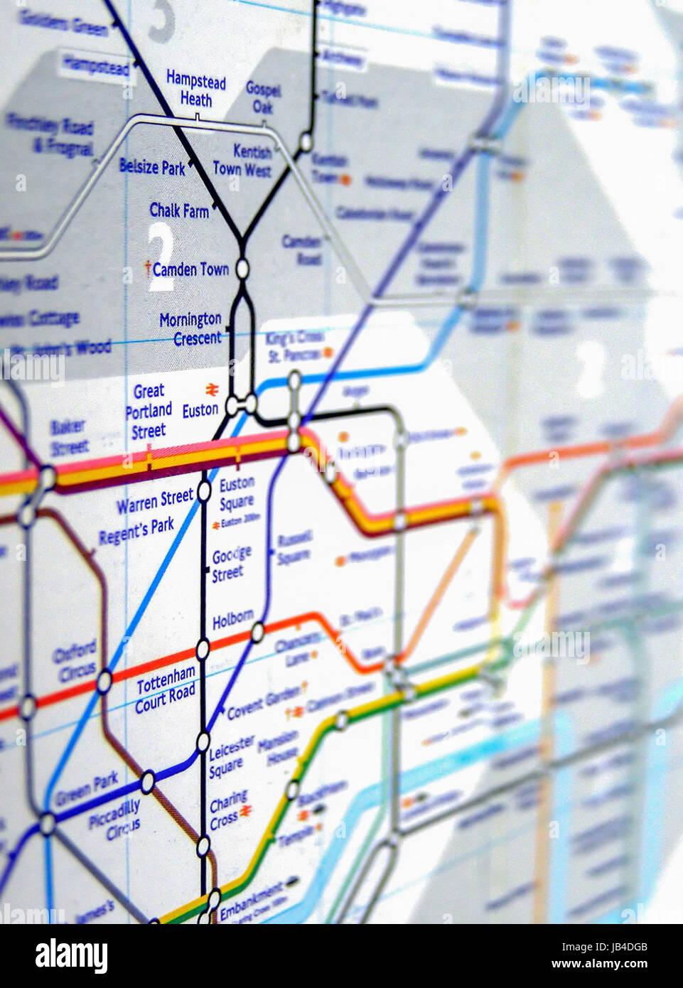Map Of England Underground.London England Uk November 04 2007 Tube Map Of The London