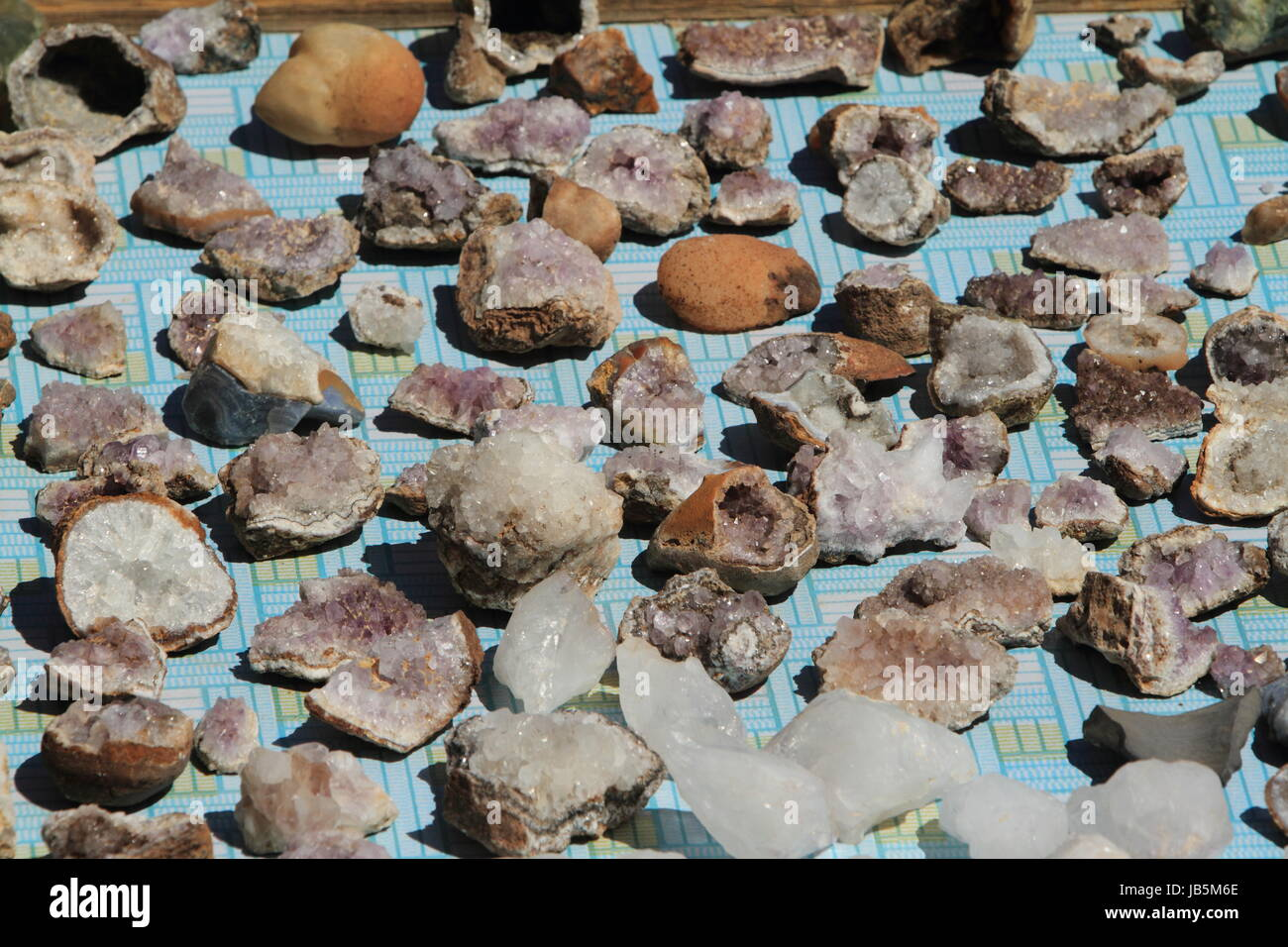 mineral ores mongolia - Stock Image