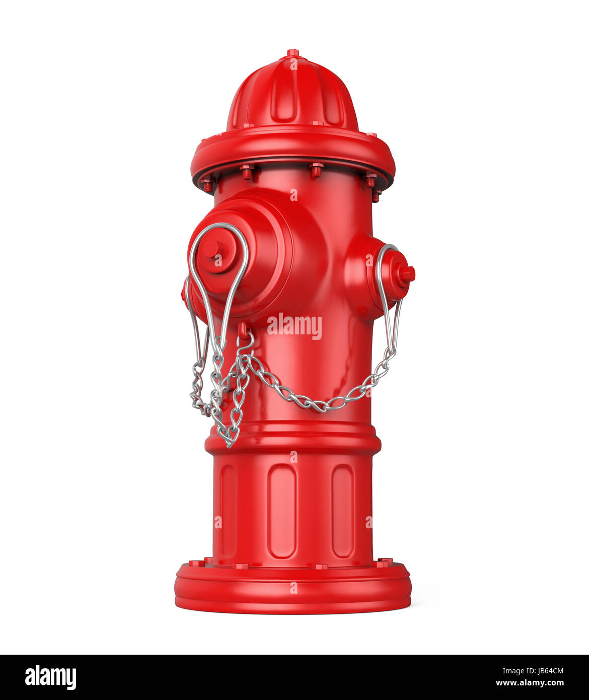 Fire Hydrant Isolated - Stock Image