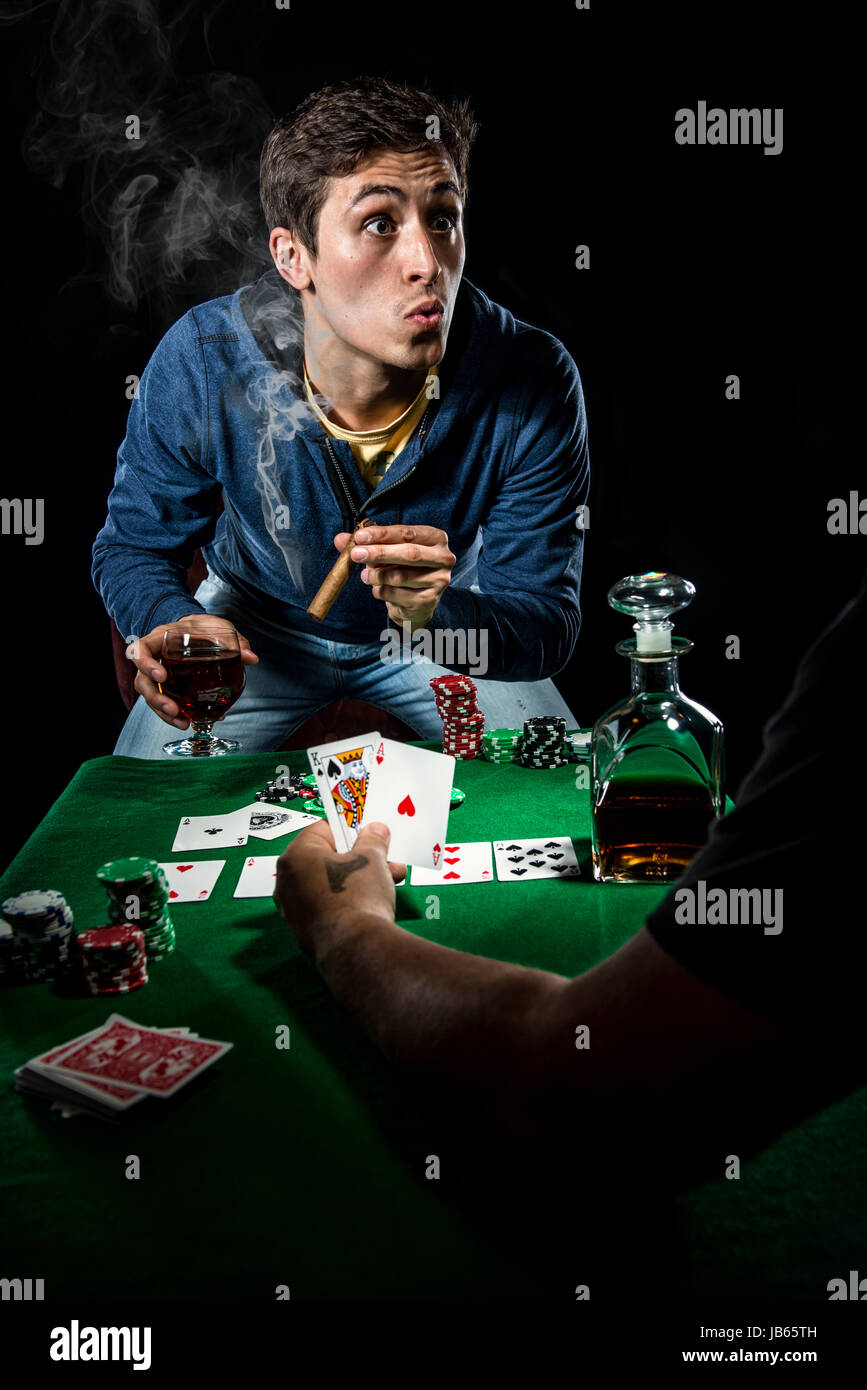 Gambler - Stock Image