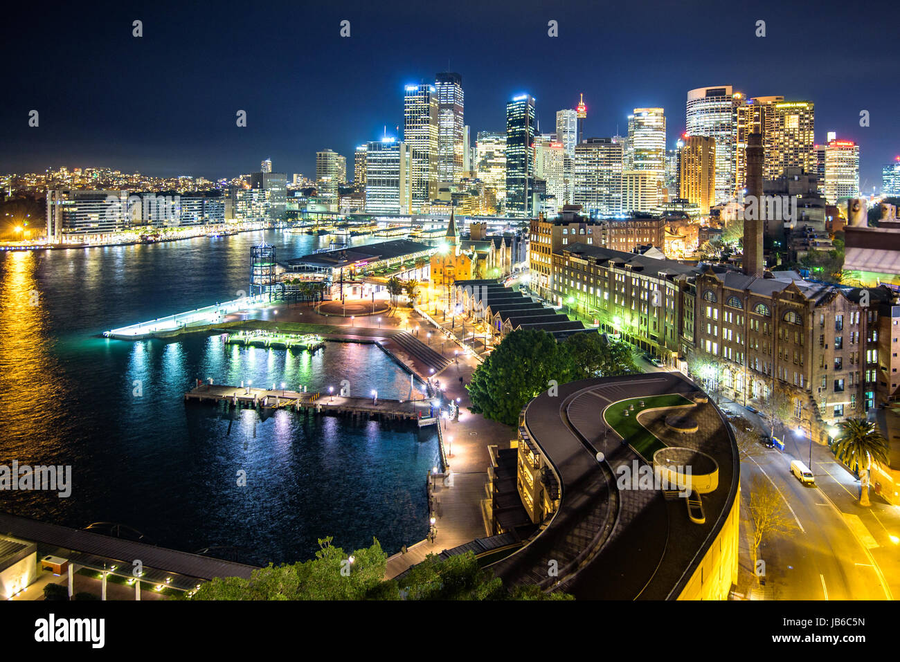 Sydney Skyline - Stock Image