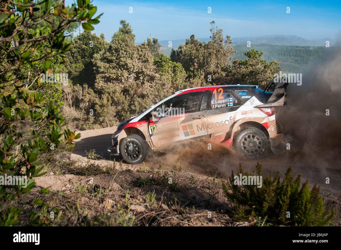 Olbia, Italy, 9 June 2017. FIA World Rally Championship - Rally ...