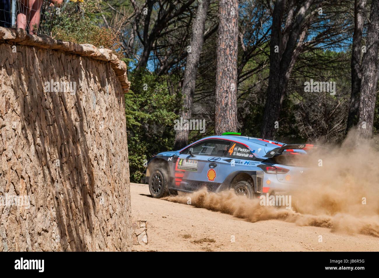 Olbia, Italy. 9th June, 2017. FIA World Rally Championship - Rally ...