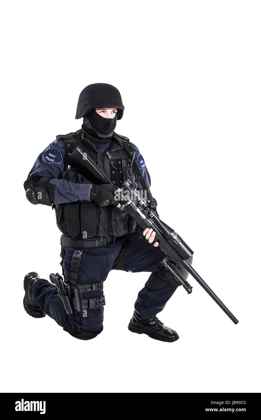 Police Swat Sniper Stock Photos Police Swat Sniper Stock Images