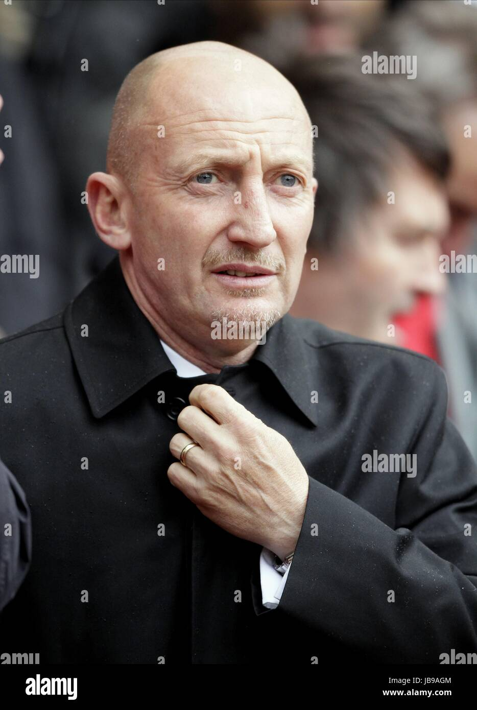 Ian Holloway Blackpool Fc Manager Blackpool Fc Manager Old Trafford Stock Photo Alamy
