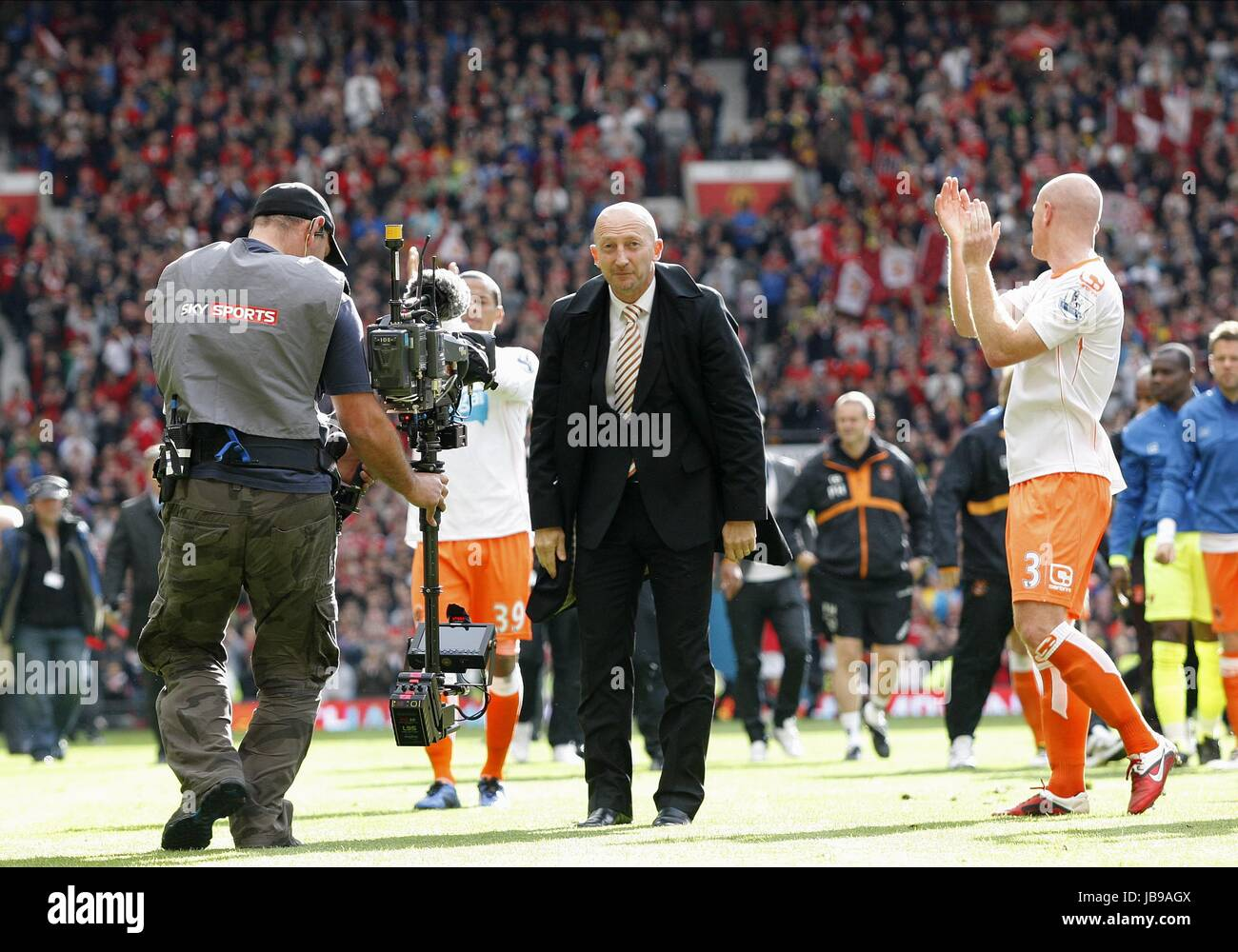 Dejected Ian Holloway Blackpool Fc Manager Blackpool Fc Manager Old Stock Photo Alamy