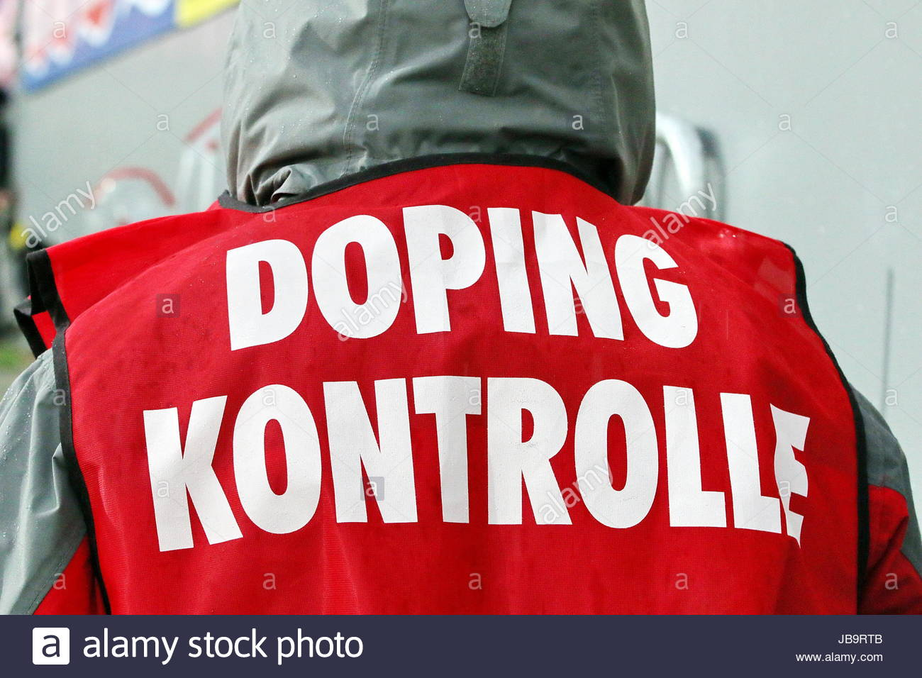 Dopingkontrollen gibt es auch in der Fußball-Bundesliga, Fußball-Bundesliga: 22. Spieltag, SC Freiburg - Stock Image