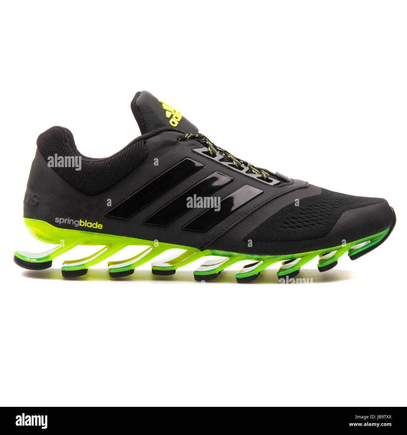 on sale e066b 48d23 Adidas Springblade Drive 2 m Black and Green Men's Running ...