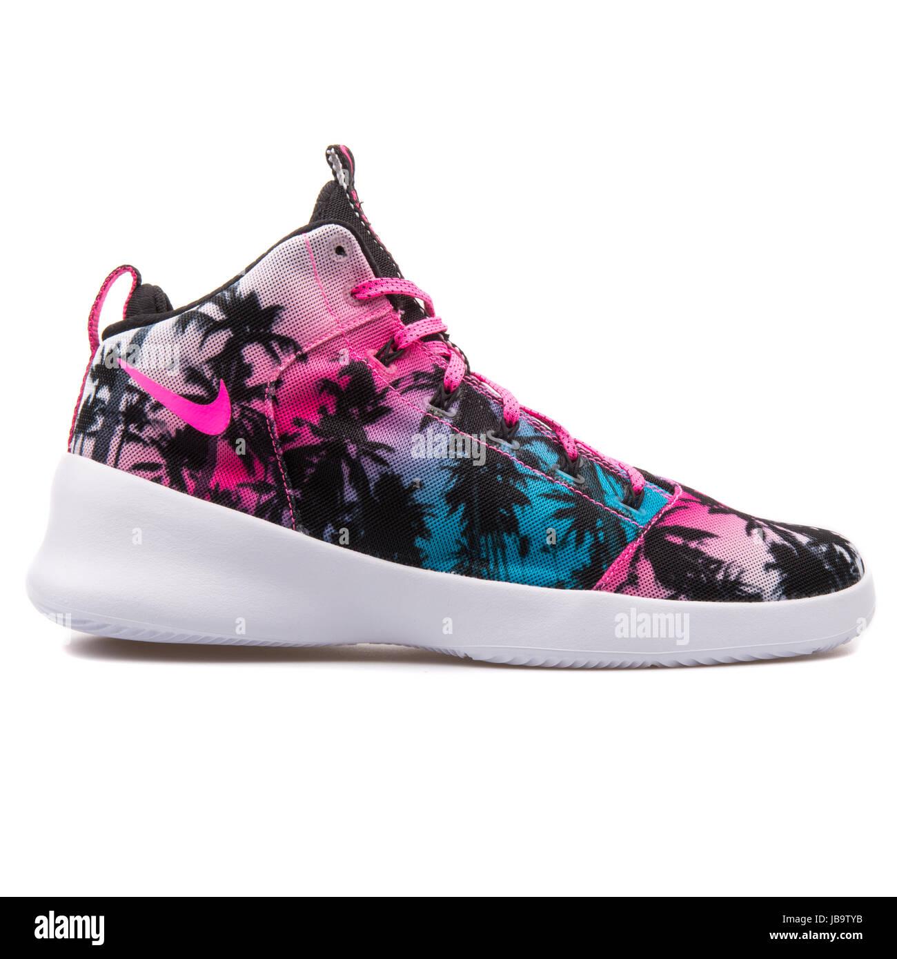 newest 7c6cd 3db8b Nike Hyperfr3sh QS Blue Lagoon, Pink Blast Men s Basketball Shoes - 808781- 400
