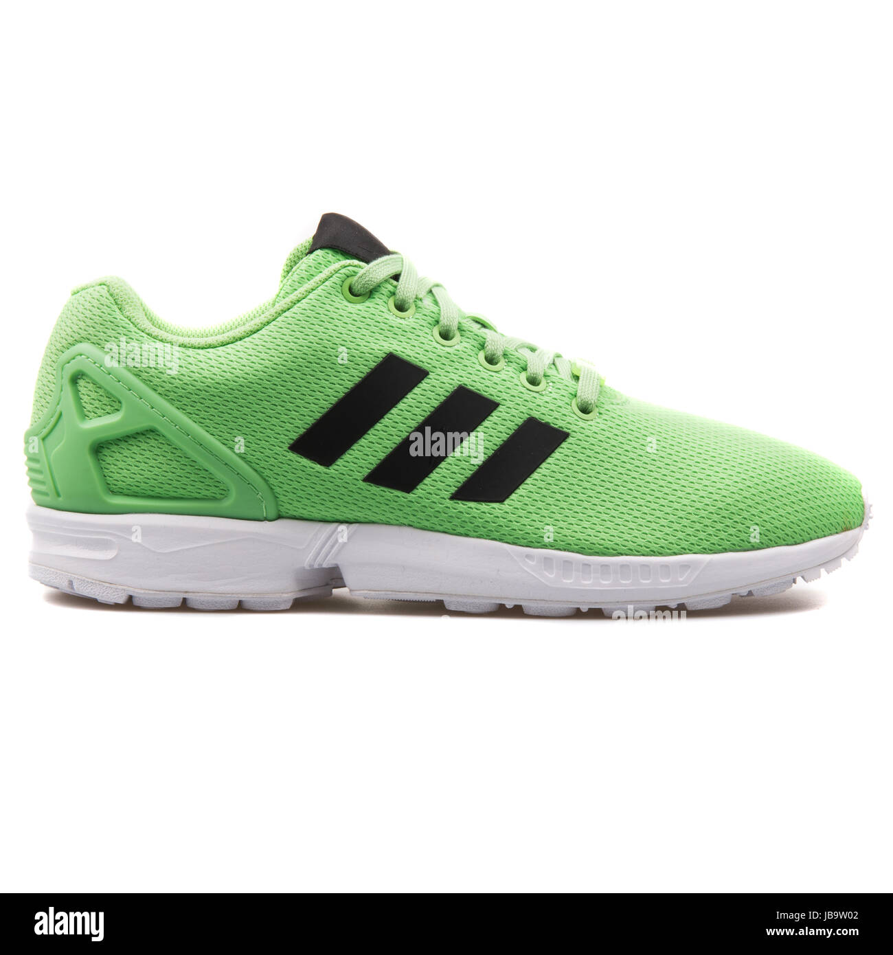 best loved 7432a 07f34 Adidas ZX Flux Green and White Men's Running Shoes - AF6345 ...