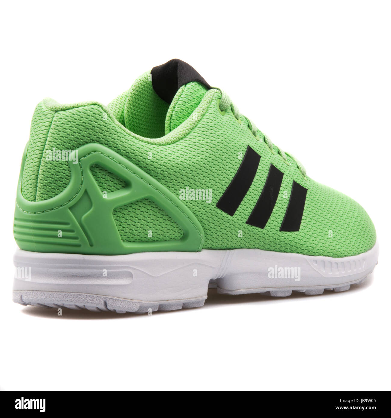 Adidas ZX Flux Green and White Men's Running Shoes - AF6345 Stock ...