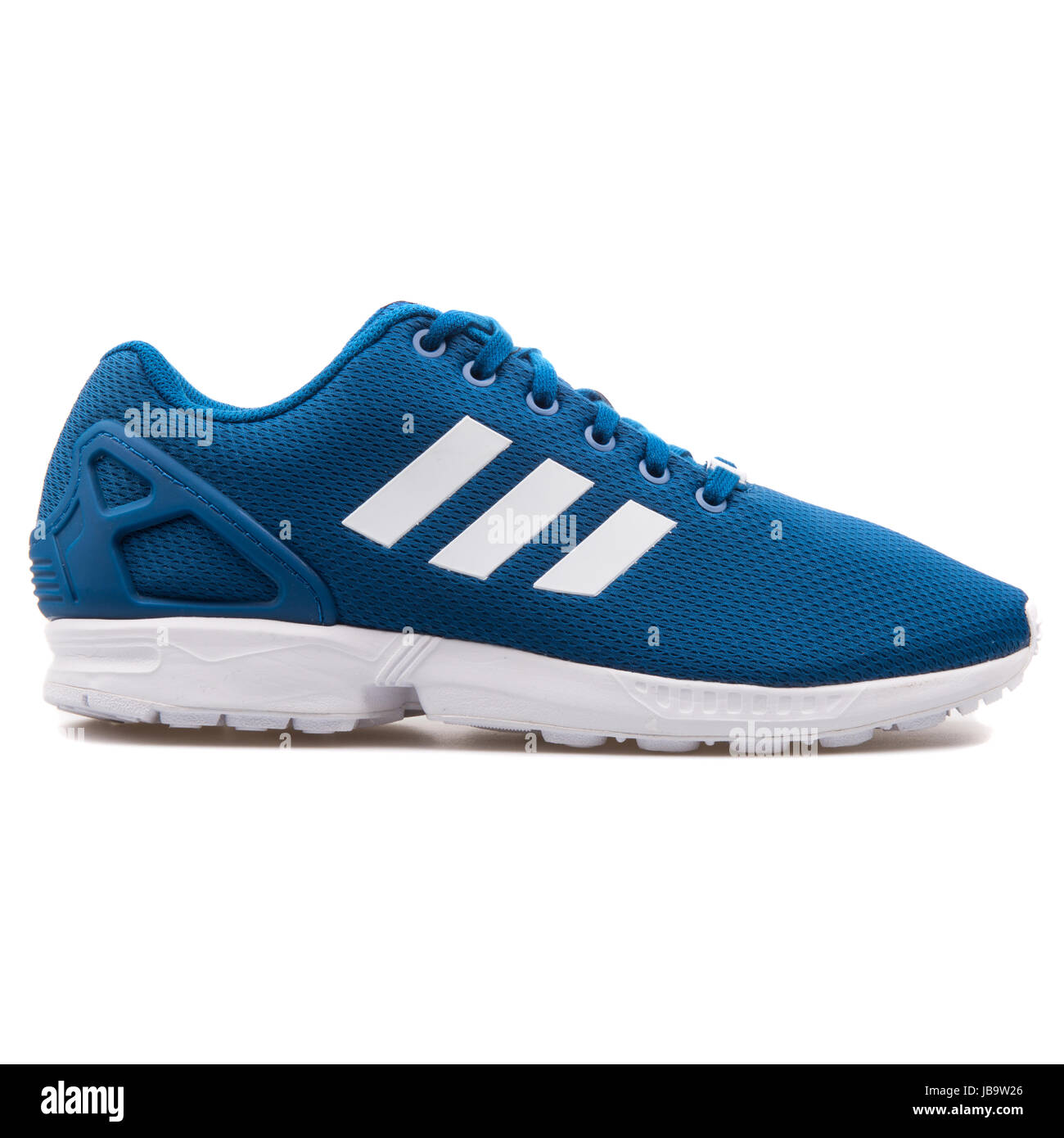 more photos fe25f 84def Adidas ZX Flux Blue Men's Running Shoes - AF6344 Stock Photo ...