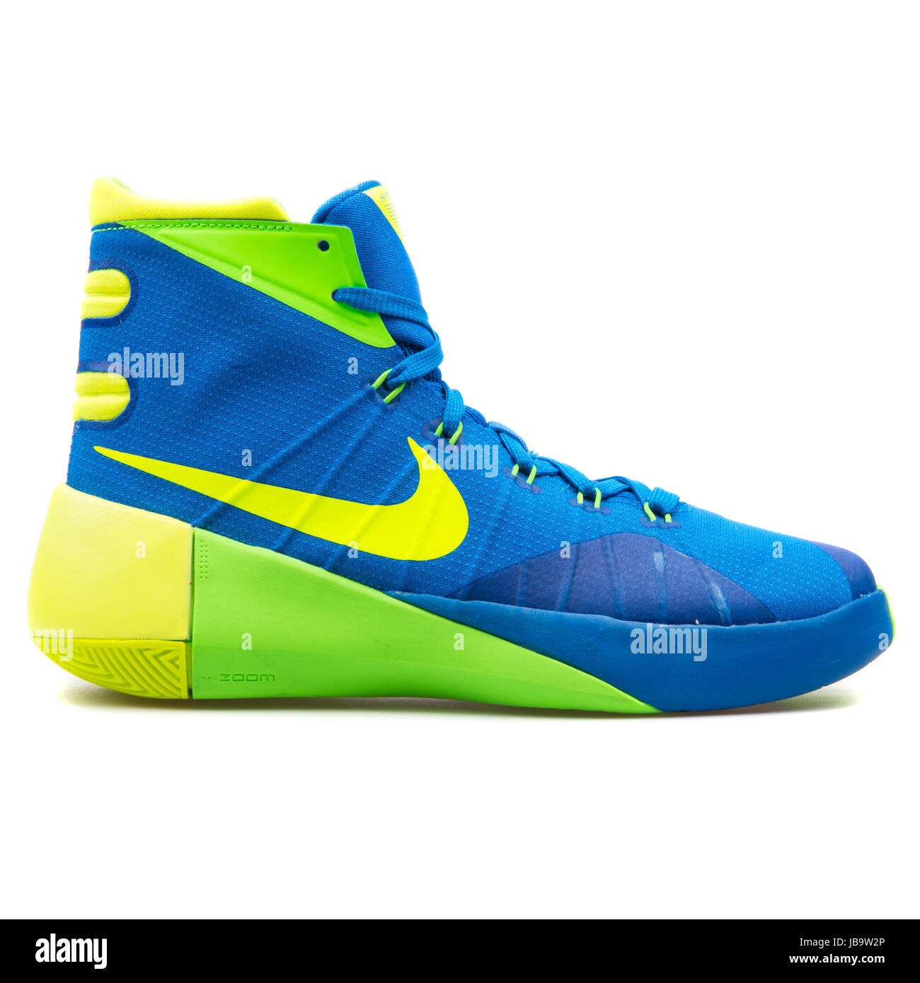 3ab471755c9a ... where to buy nike hyperdunk 2015 gs blue green and yellow youths  basketball shoes 759974 473