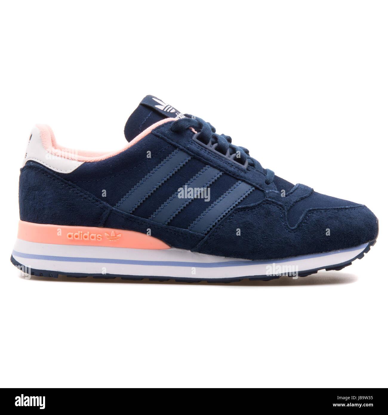 Adidas ZX 500 OG W Dark Blue and Rose Women's Running Shoes