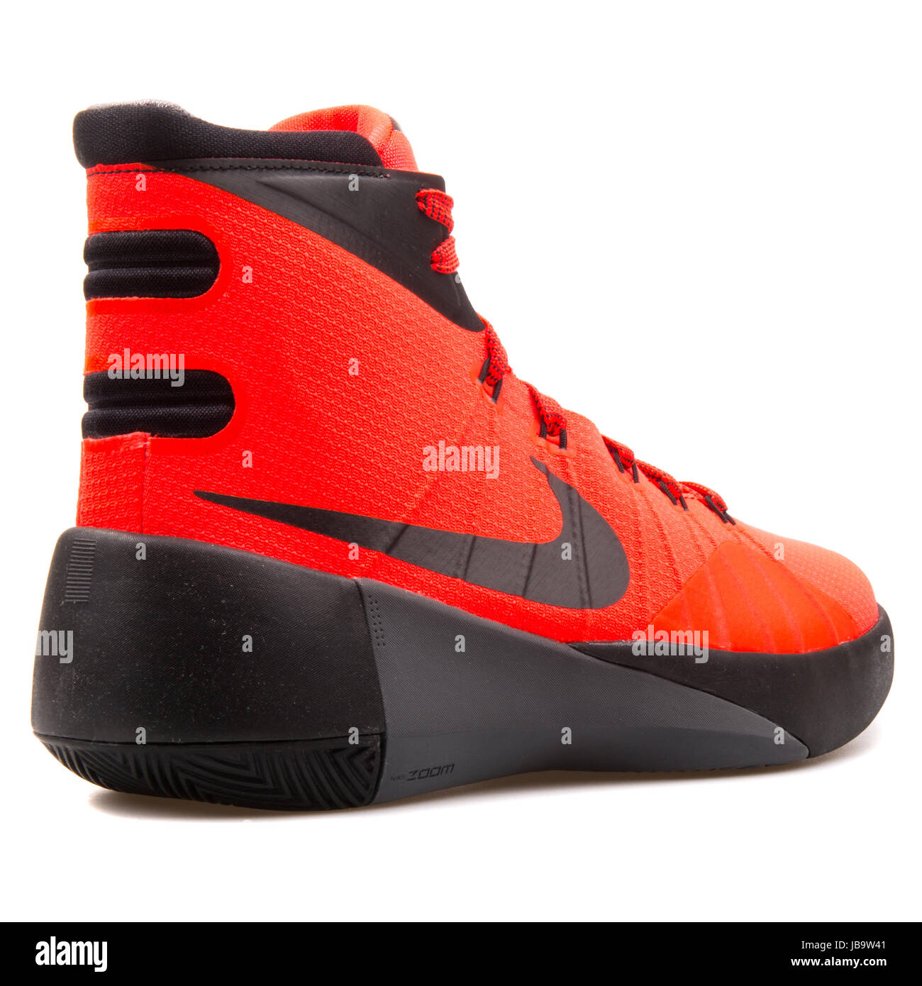 huge discount 486b9 fbb08 Nike Hyperdunk 2015 (GS) Bright Crimson and Black Youth s Basketball Shoes  - 759974-600