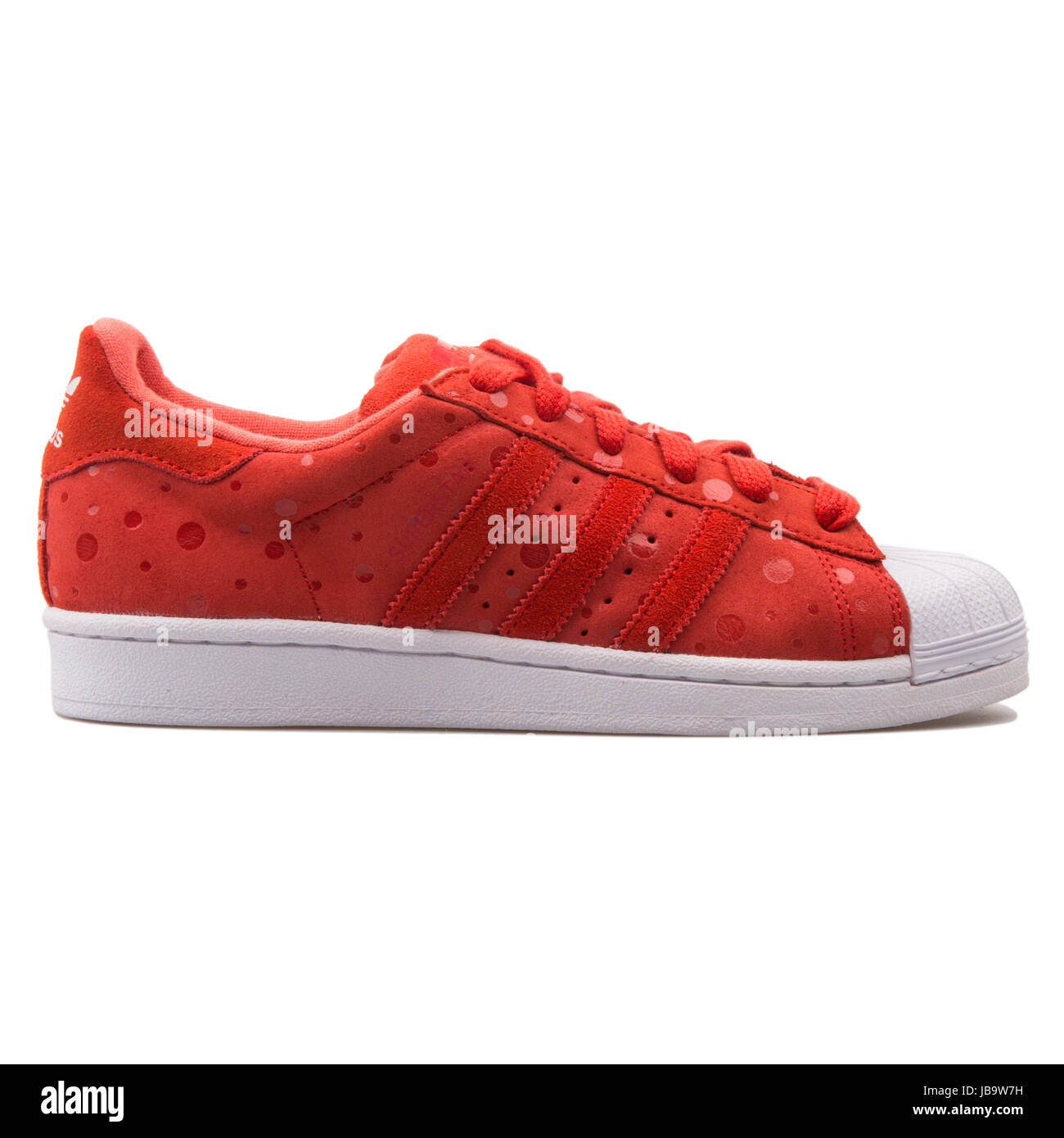 cea3dcd9 Adidas Superstar W Tomato Red Women's Sports Shoes - S77411 Stock ...