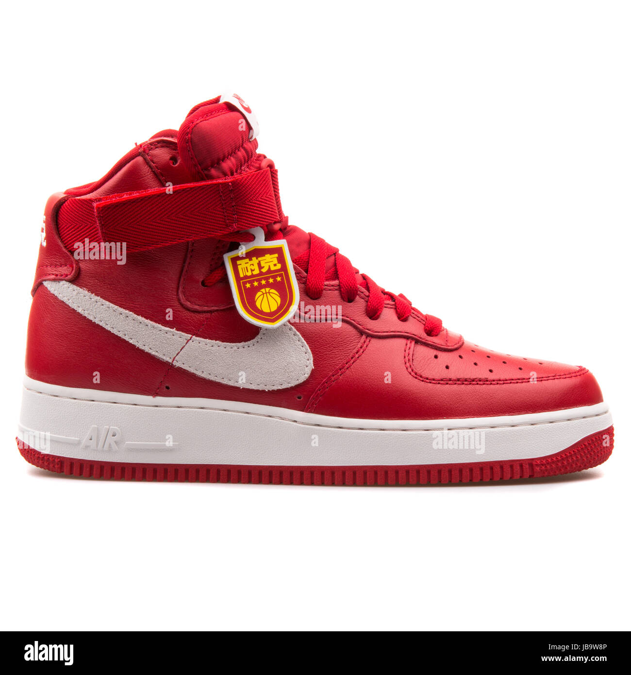 nike air force 1 retro red