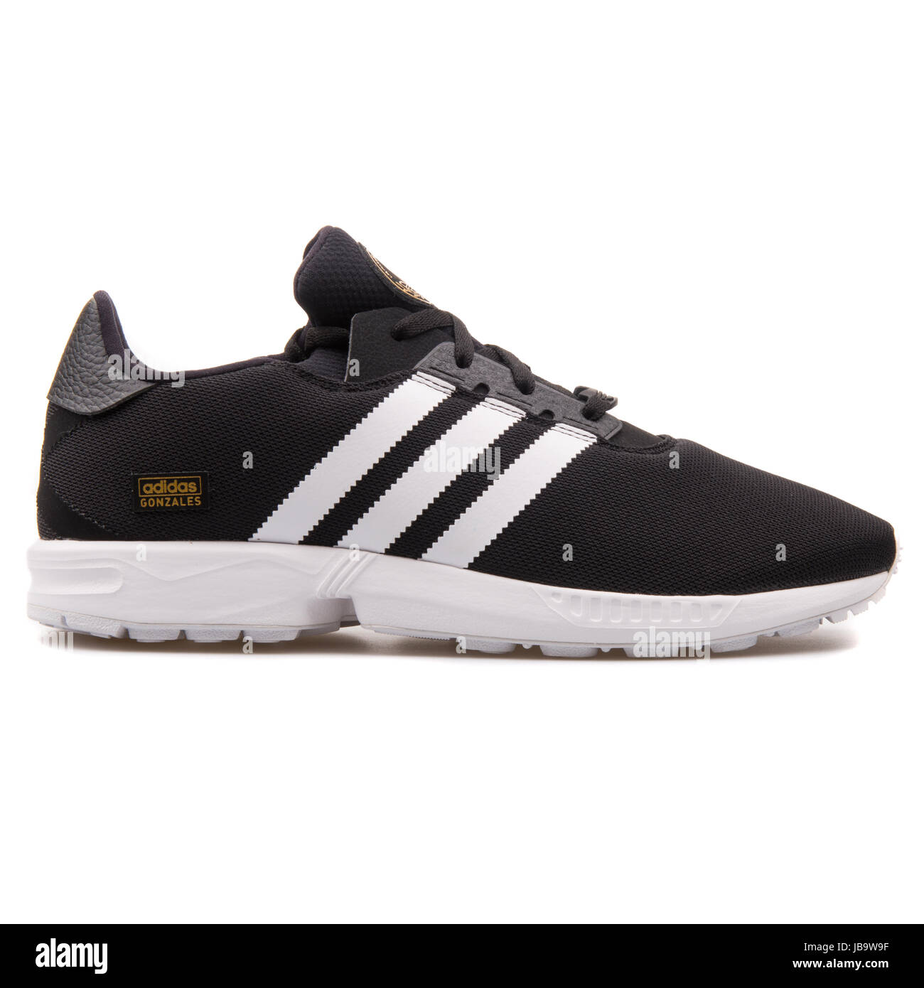 new concept 7db27 11f37 Adidas ZX Gonz Black Men s Running Shoes - D68814 - Stock Image