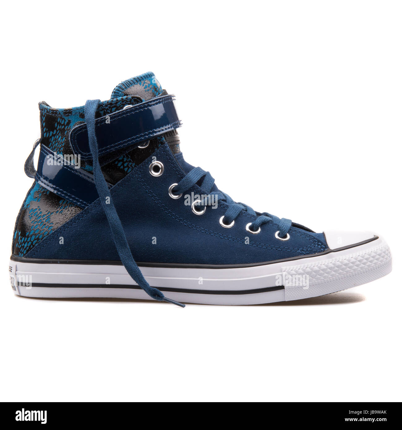 c1bf53912a5e Converse Chuck Taylor All Star Brea Hi Night Nighttime NA Blue Women s  Shoes - 549580C