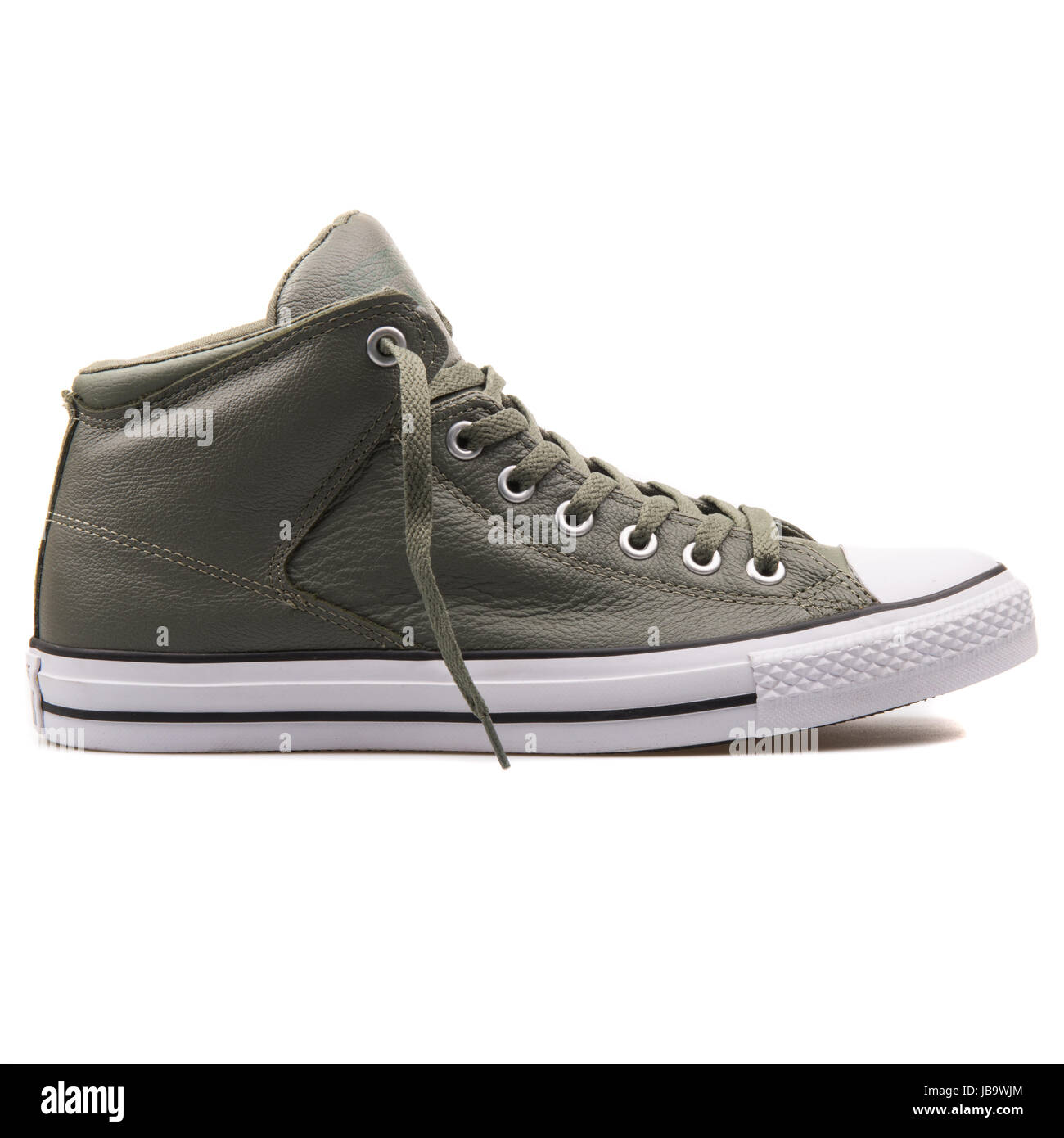 e8614eb800dc Converse Chuck Taylor All Star High Street Olive Submarine Unisex Shoes -  149427C - Stock Image