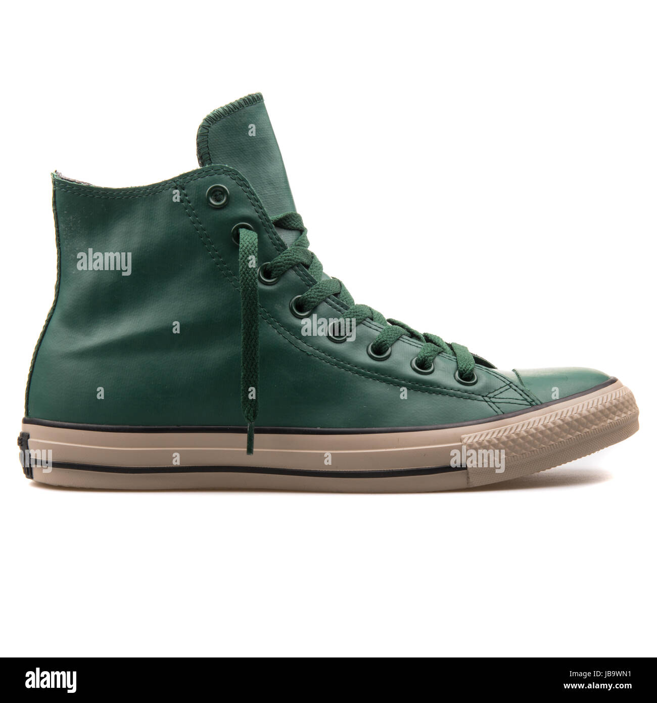 4ea9564d04a3 Converse Chuck Taylor All Star Hi Gloom Green Unisex Shoes - 149771C -  Stock Image