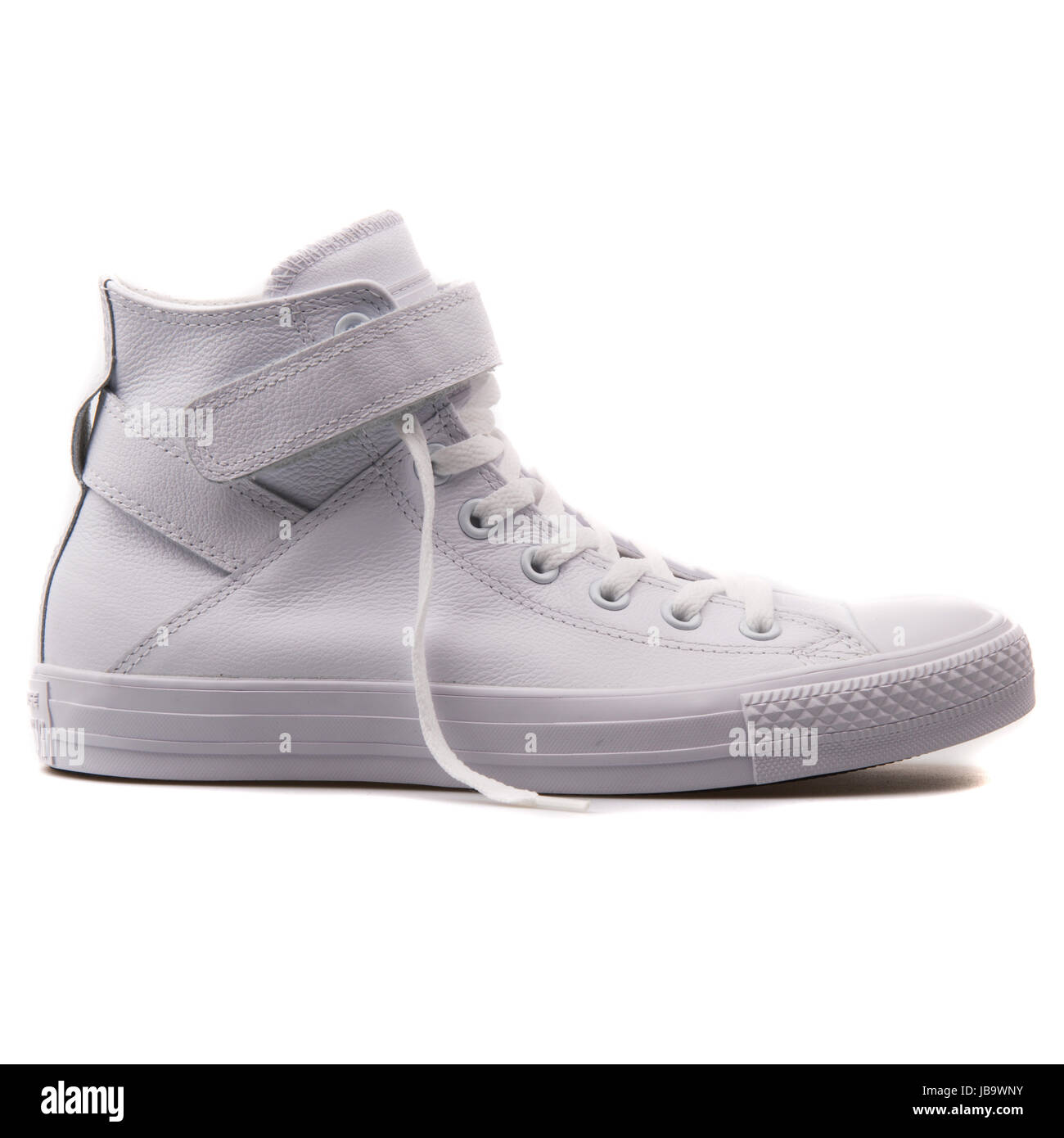 faee0cb0eff4d0 Converse Chuck Taylor All Star Brea Hi White Leather Women s Shoes - 549582C