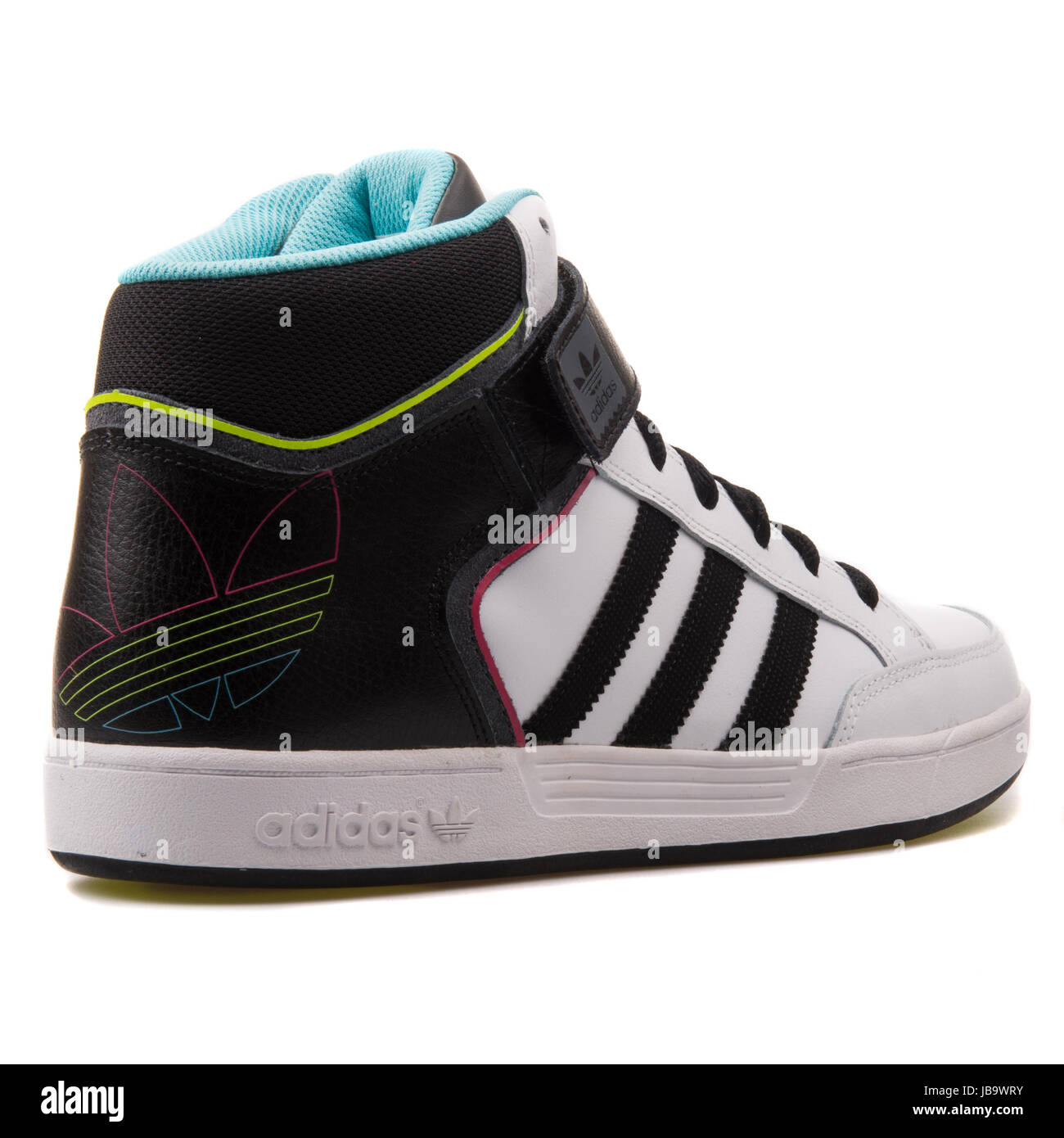 Adidas Varial Mid White and Black Men's Skateboarding Shoes ...