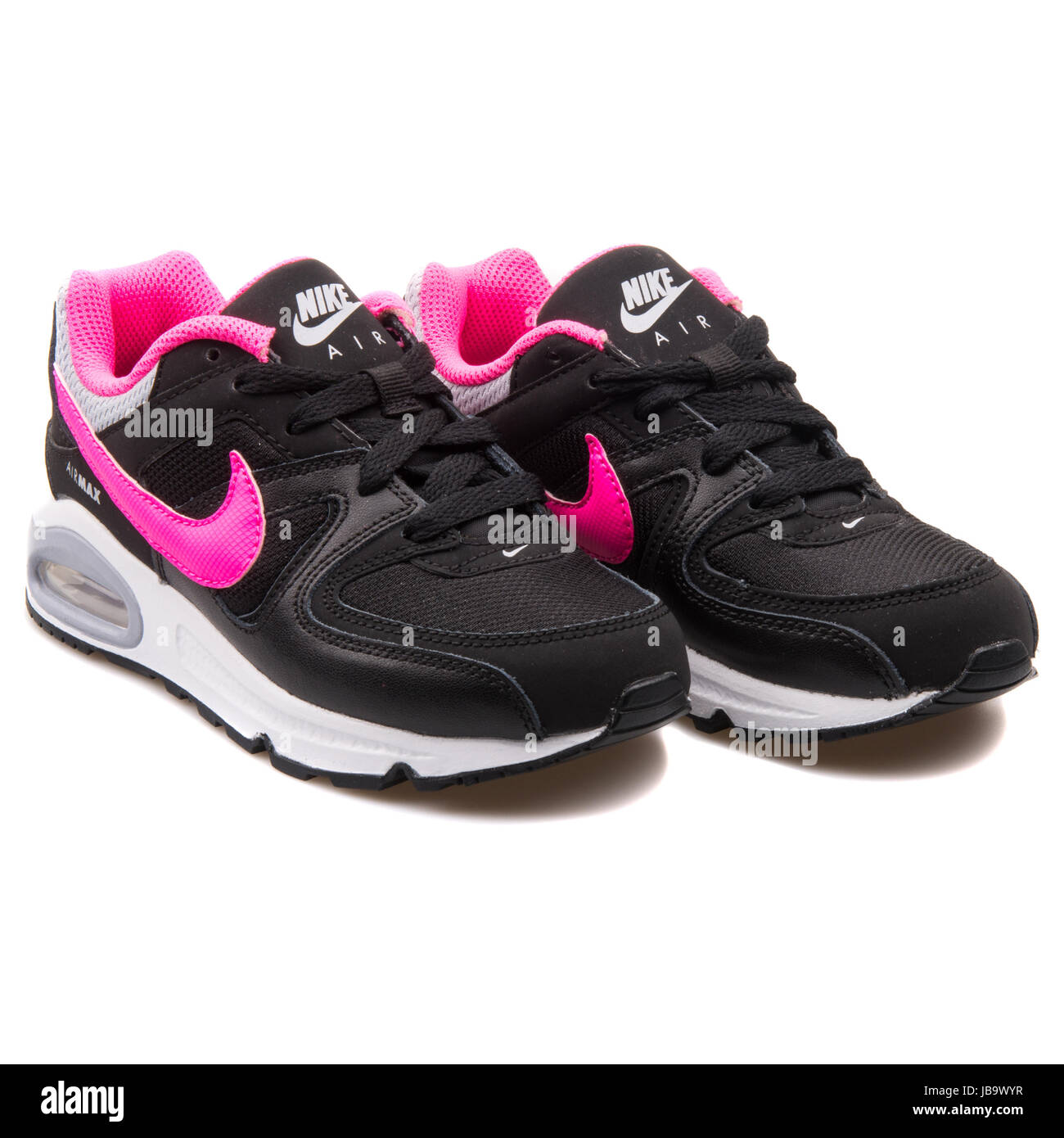 287843863481 Nike Air Max Command (PS) Black and Pink Kids Sneakers - 412233-065 ...