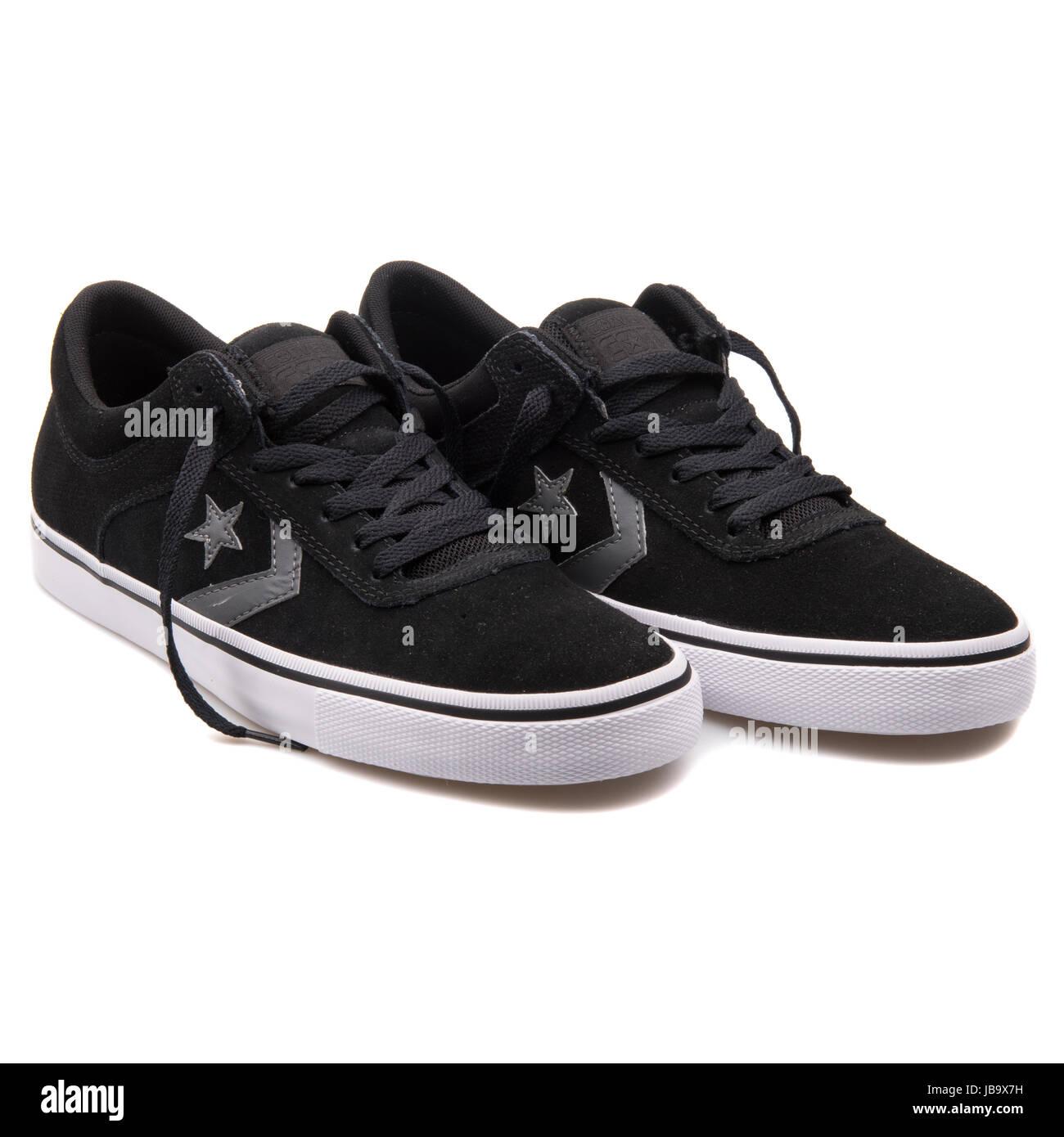Converse Chuck Taylor All Star Aero S OX Black Unisex Shoes - 150431C - Stock Image