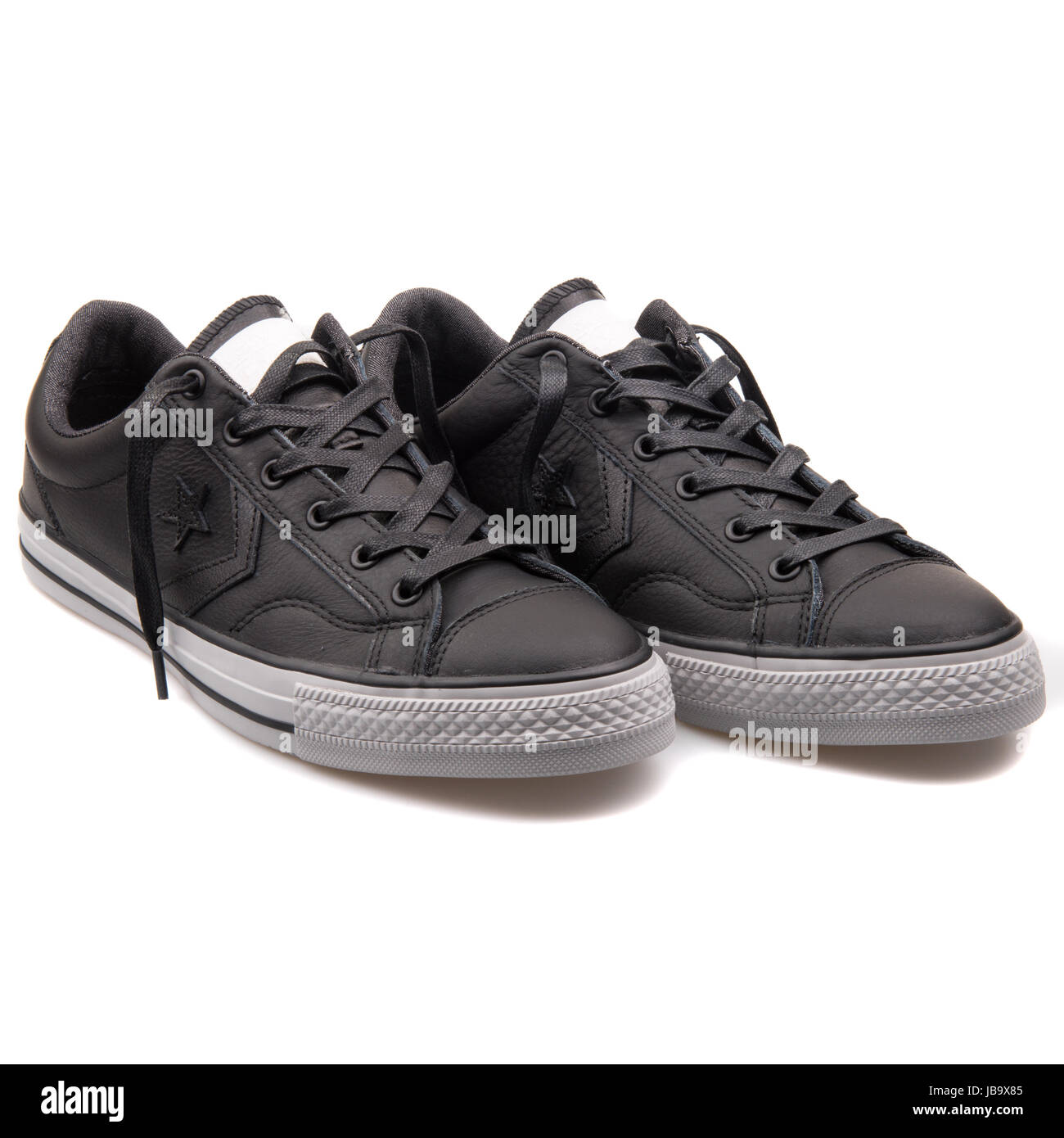 9bd4058a9f1d Converse Chuck Taylor All Star Player OX Black Leather Unisex Shoes -  149765C