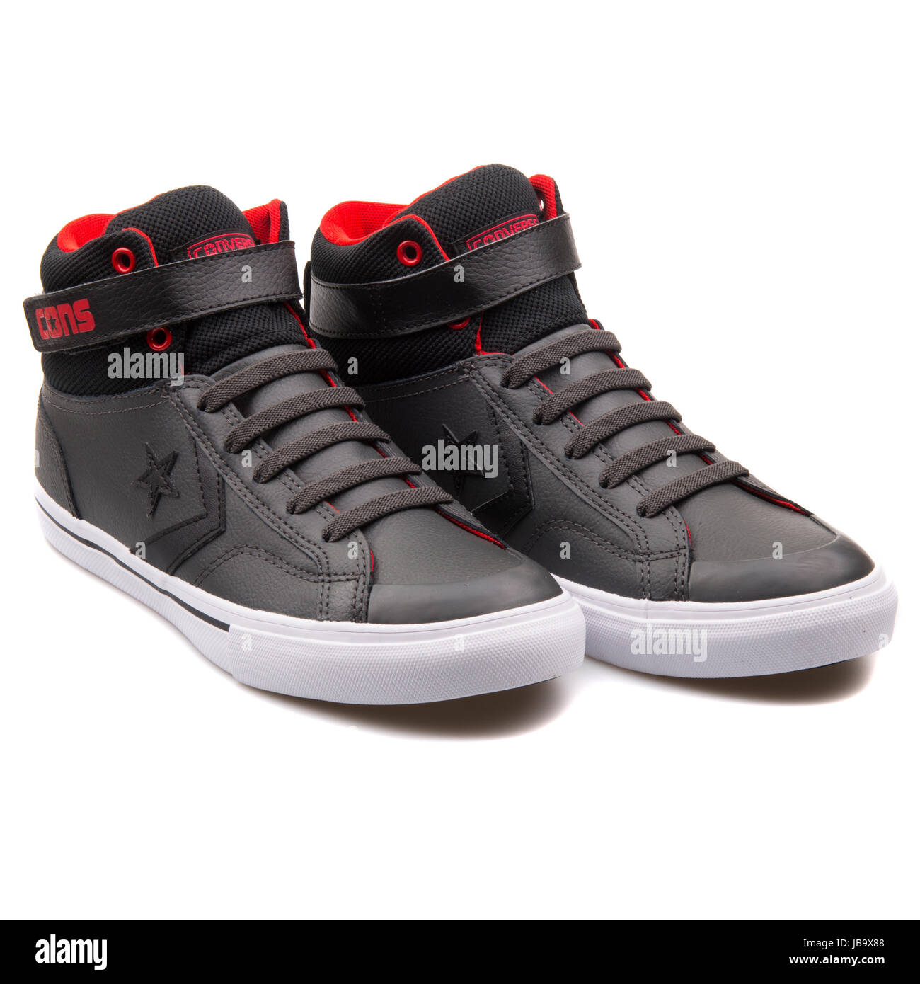 5cb92de18191 Converse Chuck Taylor All Star Pro Blaze Strap Storm Wind Black Juniors  Shoes - 650136C