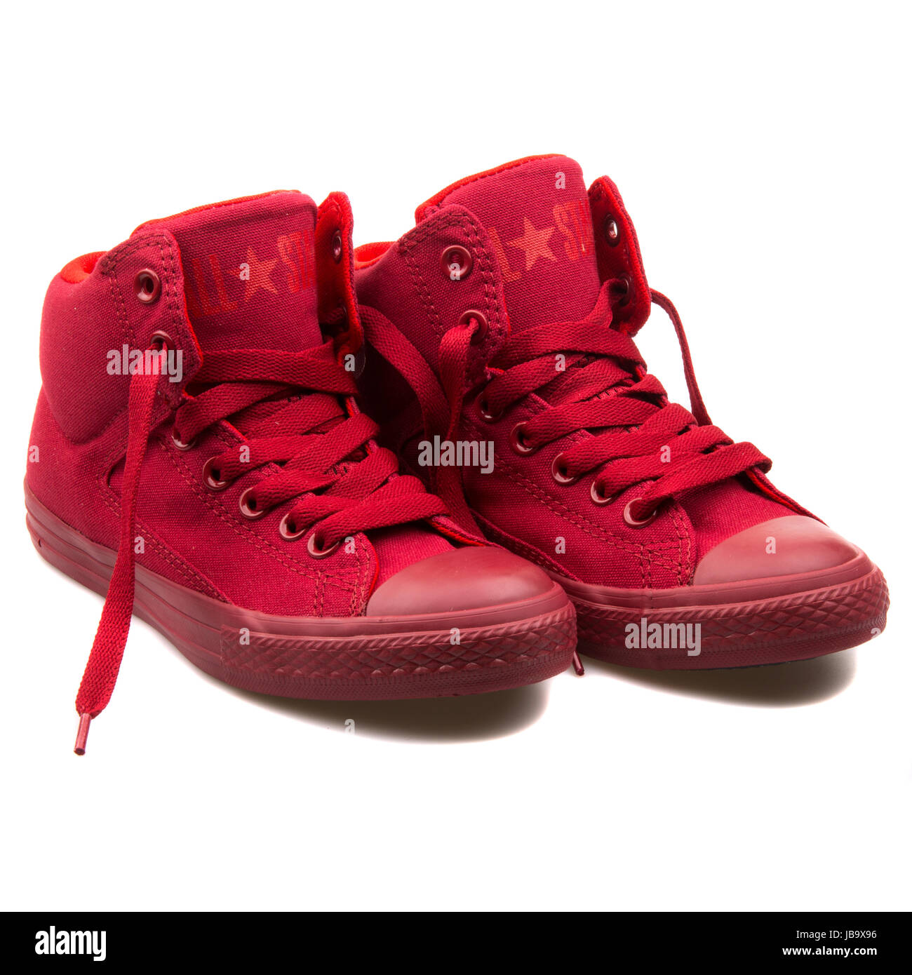 a929c613439 Converse Chuck Taylor All Star High Street Chilli Paste Red Junior s Shoes  - 650120C
