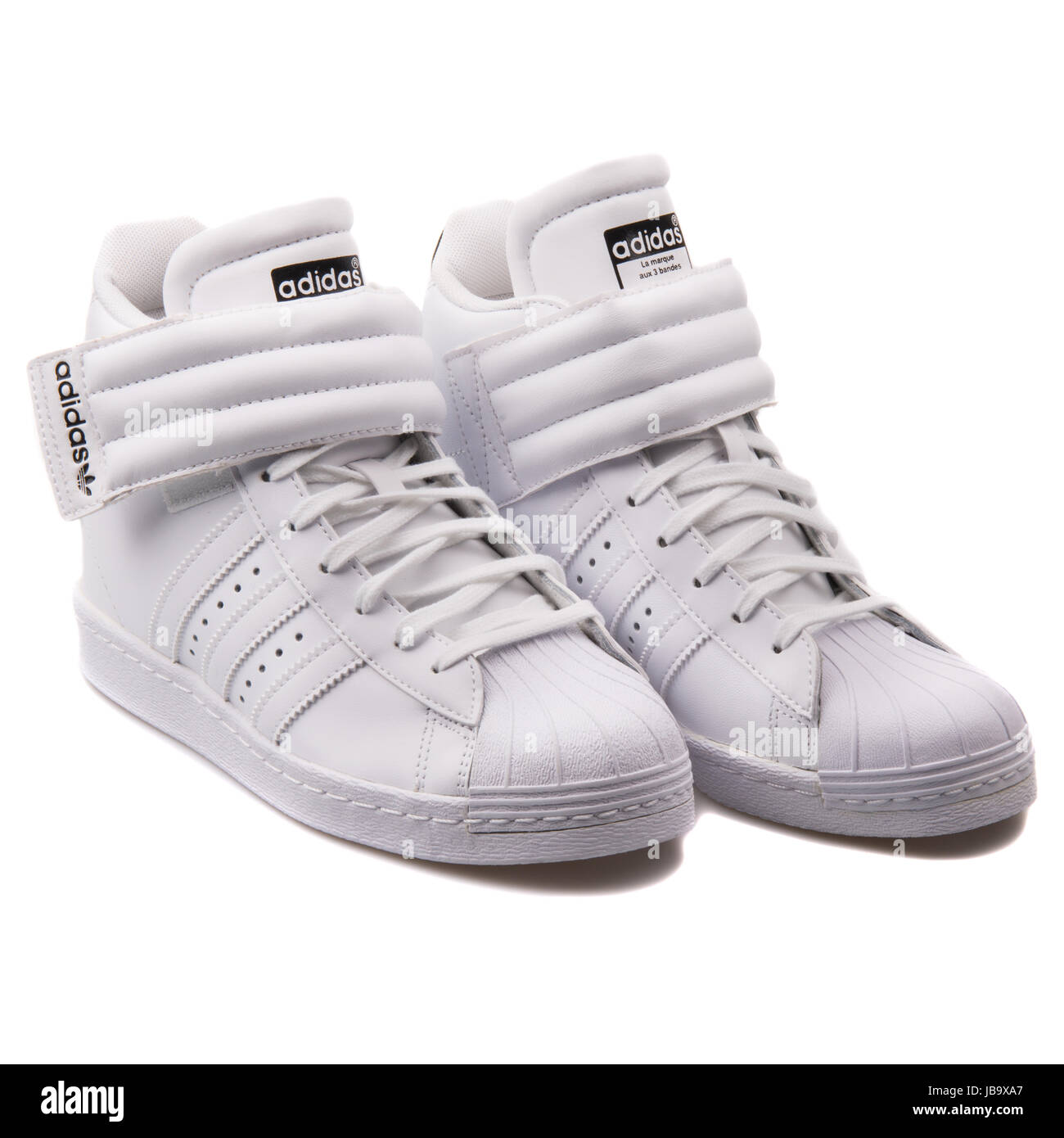 official photos bda12 ad0d2 Adidas Superstar UP Strap W White Women's Shoes - S81351 ...