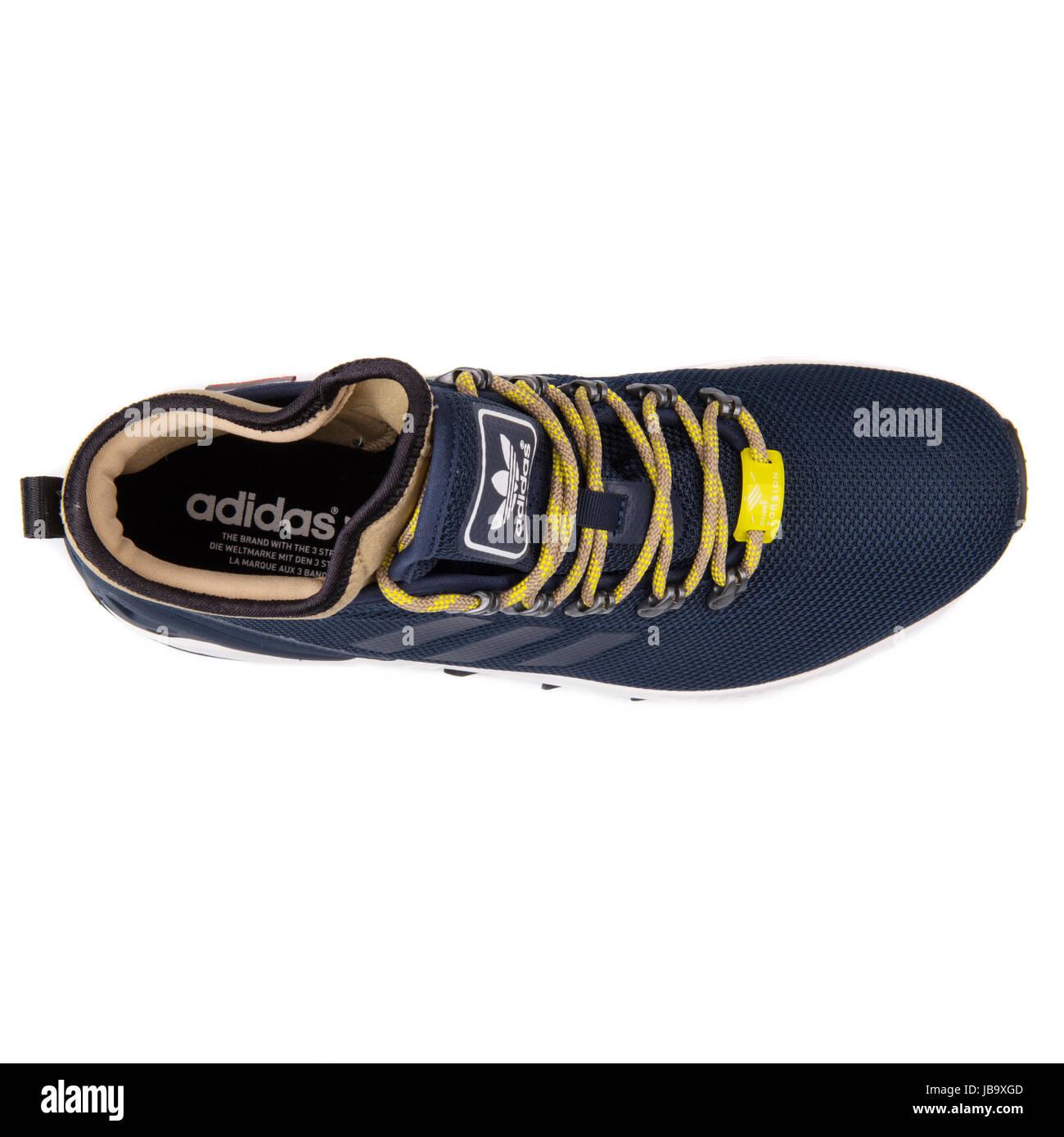 3c716dfe9 Adidas ZX Flux Winter Navy Blue Men s Sports Shoes - S82932 - Stock Image