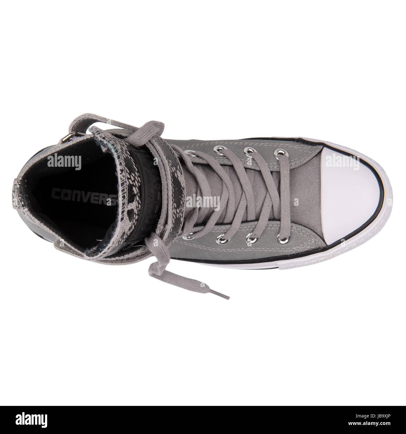 Converse Chuck Taylor All Star Brea Hi Dolphin Black Women s Shoes -  549581C - Stock Image c7adaa812