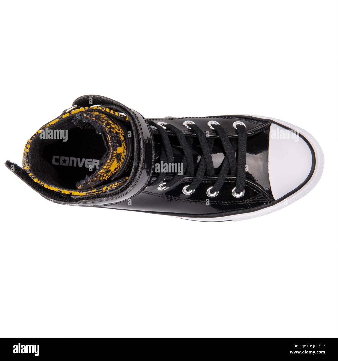 Converse Chuck Taylor All Star Brea Hi Antiqued Black Women's Shoes - 549579C - Stock Image