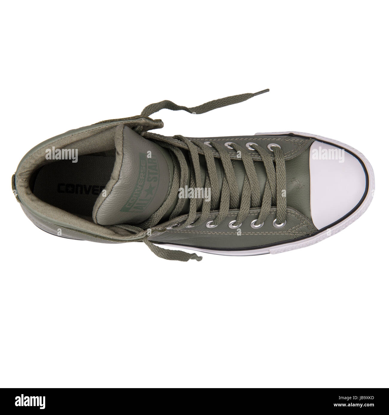 1995e3254d8 Converse Chuck Taylor All Star High Street Olive Submarine Unisex Shoes -  149427C - Stock Image