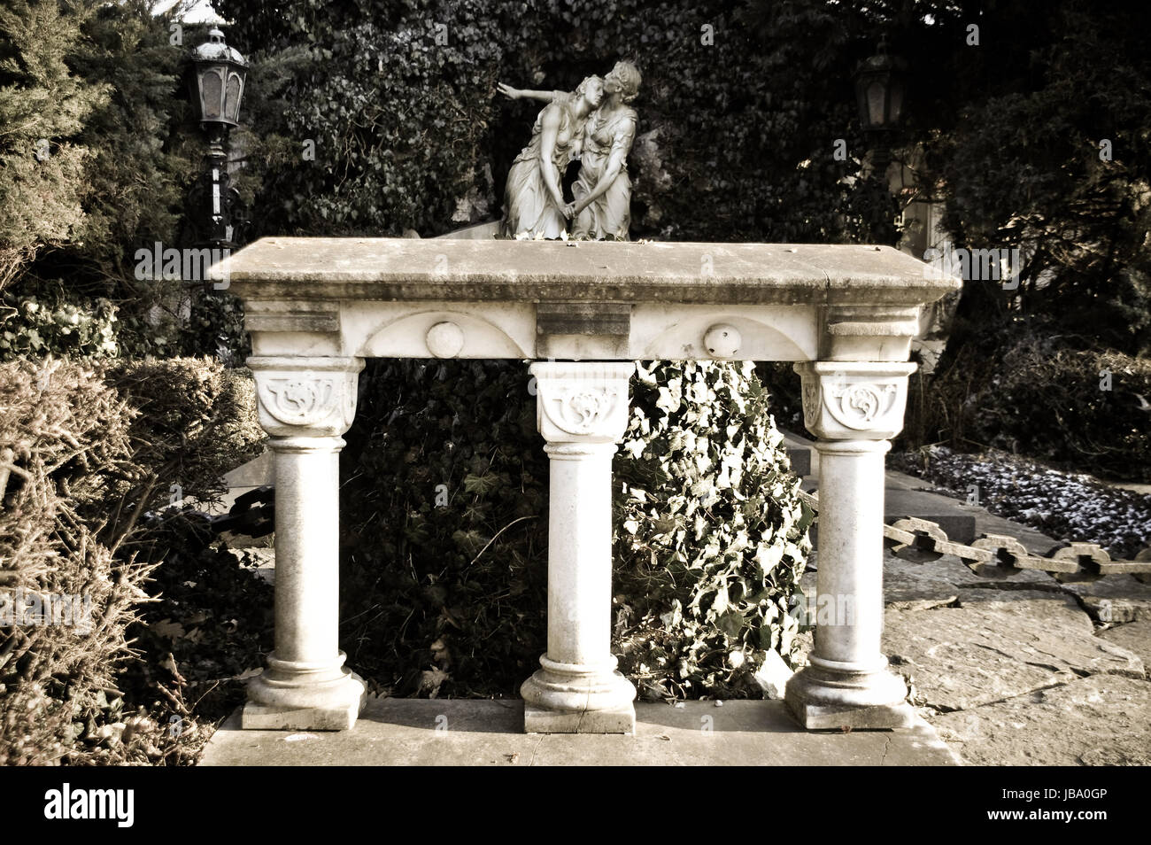 mourning sorrow - Stock Image