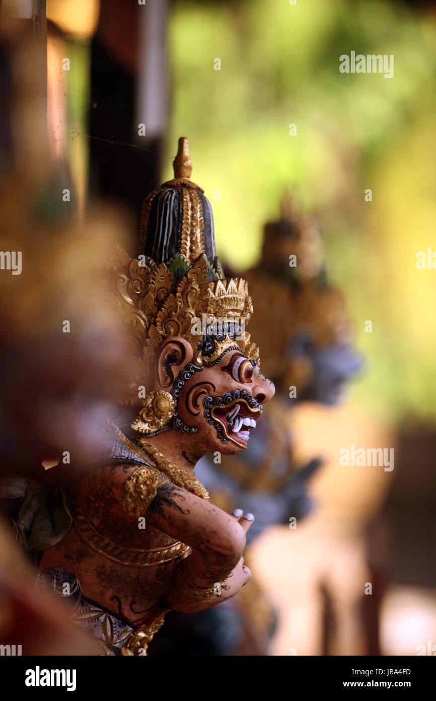 Asien, Suedost, Indonesien, Bali, Insel, Ubud, Tempel, Goa Gajah Tempel,  (Urs Flueeler) - Stock Image