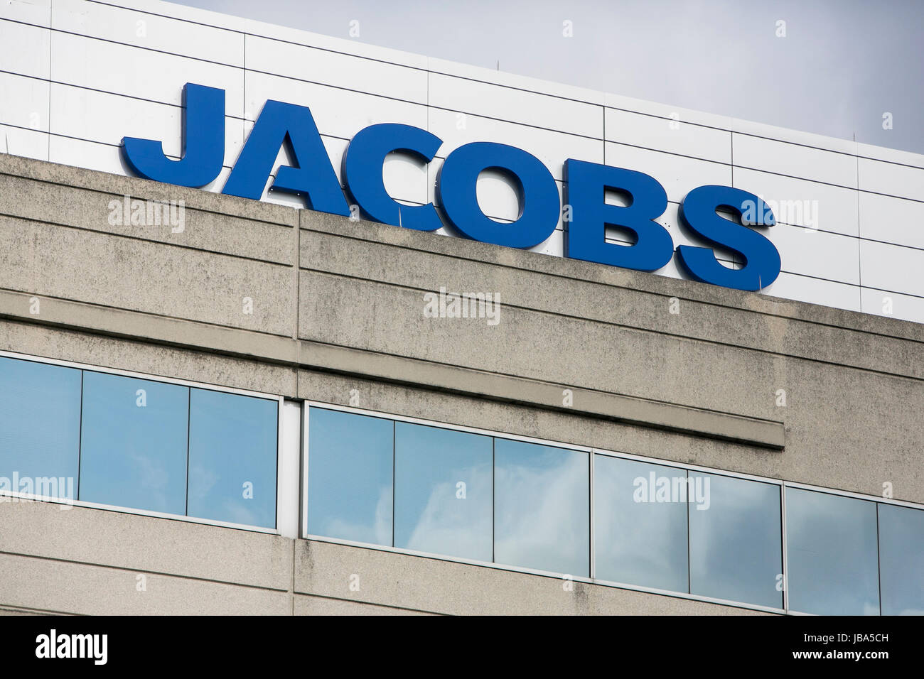 A Logo Sign Outside Of A Facility Occupied By Jacobs Engineering Stock Photo Alamy