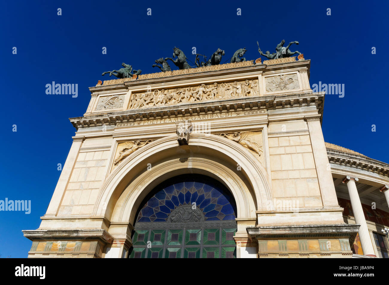 Politeama opera house, Palermo Italy Stock Photo: 144671356 - Alamy