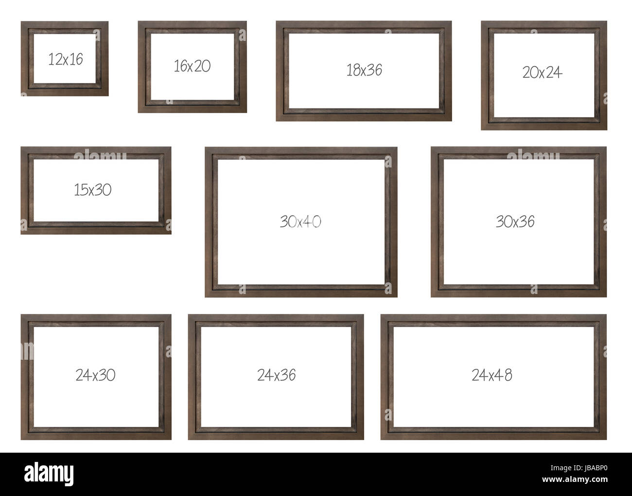 the ten most popular selling frames dimensions of a brown. Black Bedroom Furniture Sets. Home Design Ideas