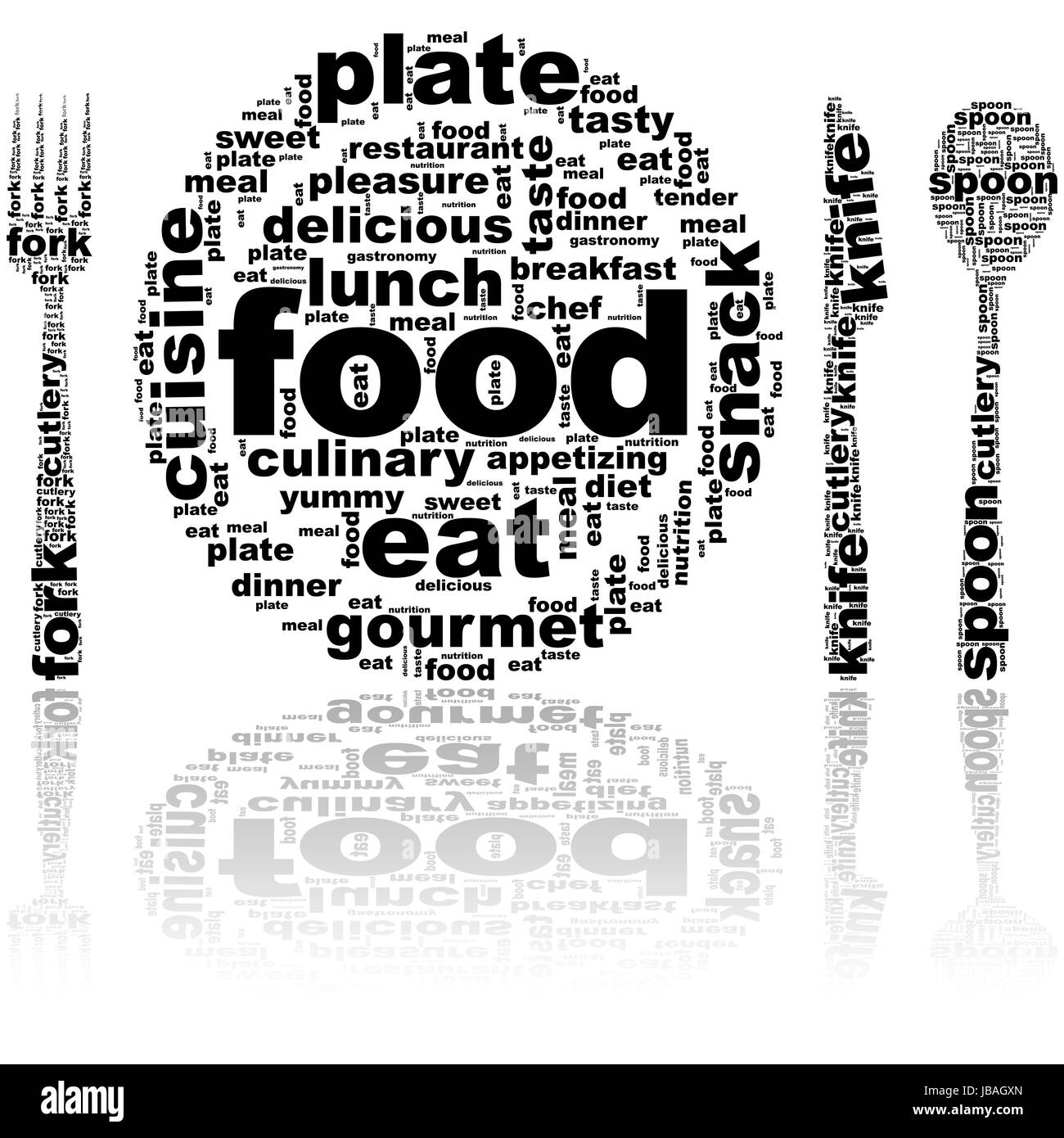eat your words black and white stock photos images alamy