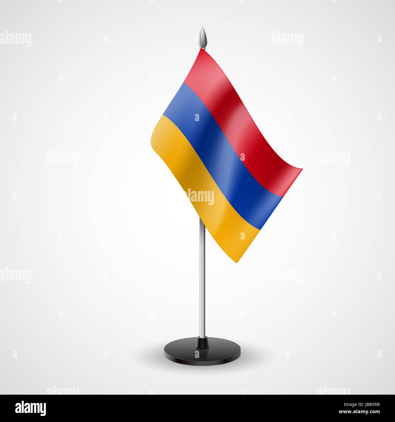 State Table Flag Of Armenia National Symbol Stock Photo 144690207