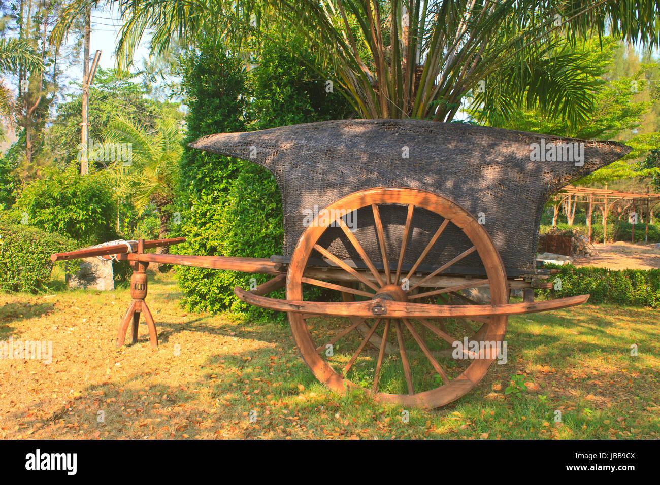 cart crafted farm wheels spoke antique pin garden goat buggy hay hand primitive carriage