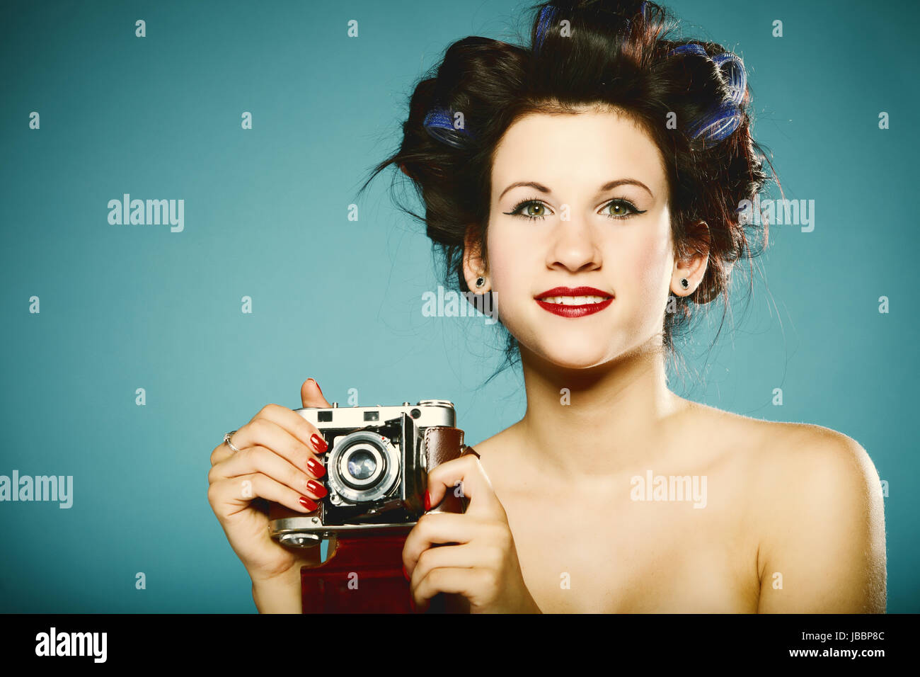 Retro Girl Stock Photos Retro Girl Stock Images Alamy