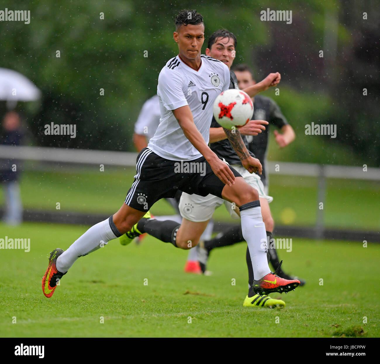 06.06.2017,  Fussball U21, Deutsche U21-Nationalmannschaft im Trainingslager in Grassau am Chiemsee, Testspiel im - Stock Image