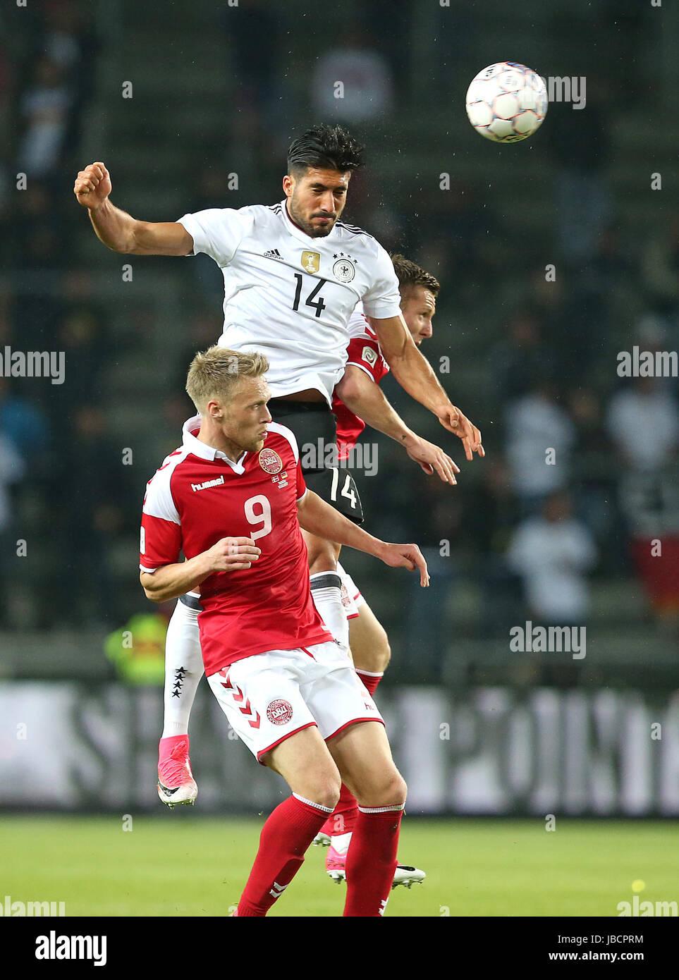 06.06.2017, Fussball Länderspiel, Dänemark - Deutschland, in Brondby Stadion Kopenhagen, v.l. Nicolai Jörgensen Stock Photo